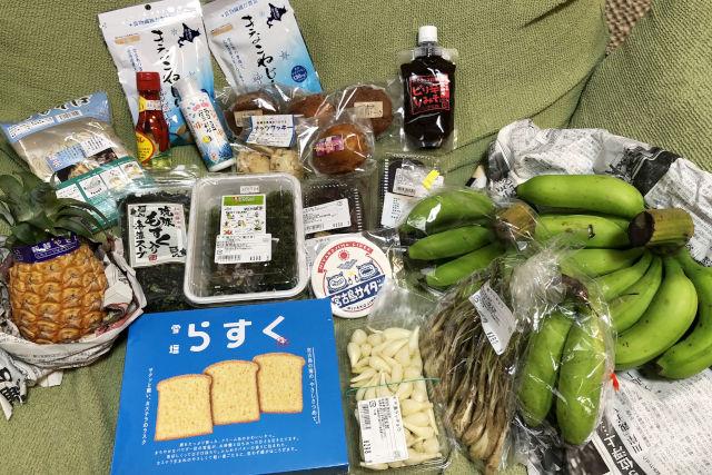 宮古島のお土産(あたらす市場)