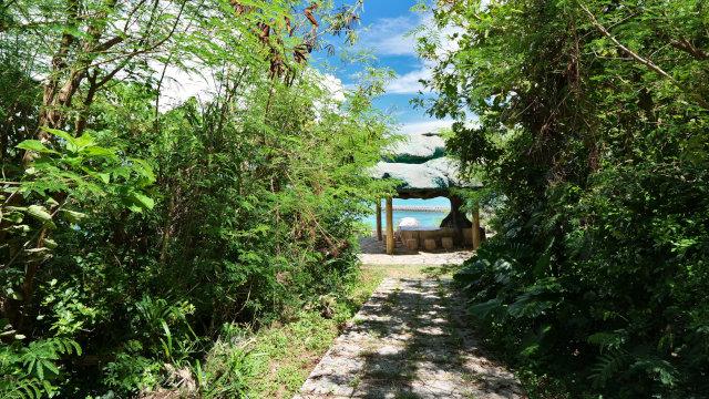 松の木展望台の入り口