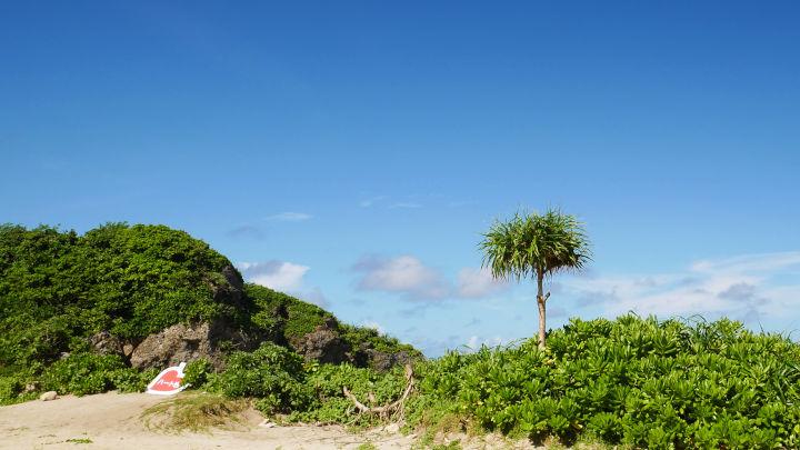 ハート岩(池間島)